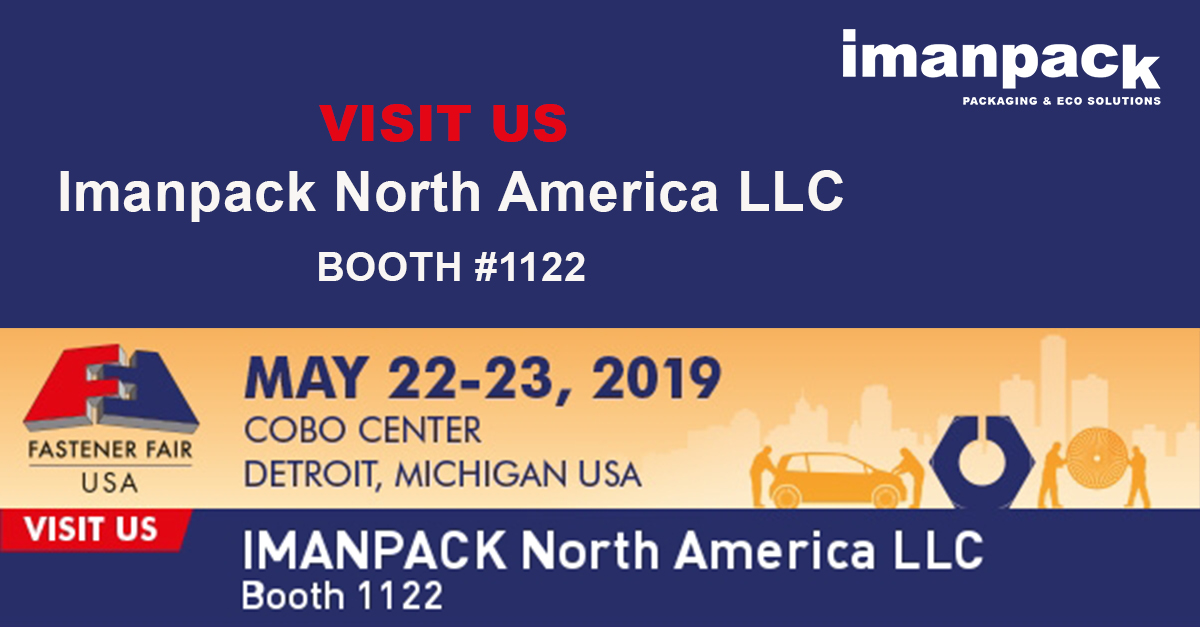 Join IMANPACK North America LLC and be sure to visit us at booth 1122